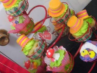 Custom Theme Cupcakes http://littlemissinc.wix.com/littlemissweddings