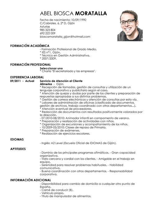 Modelo de Currículum Vítae Servicio al Cliente   Servicio al Cliente CV Plantilla   LiveCareer