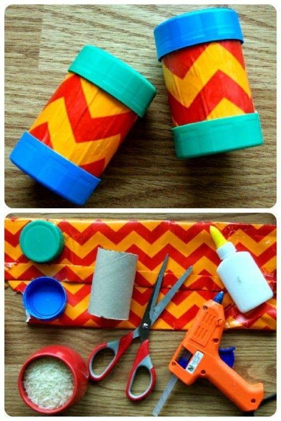 Maracas selber basteln – 3 DIY Projekte für Fasching oder Kindergeburtstag mit Anleitung