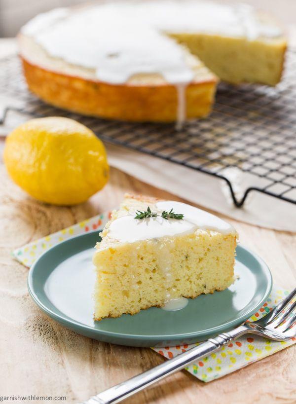 Lemon Thyme Breakfast Cake ~ http://www.garnishwithlemon.com