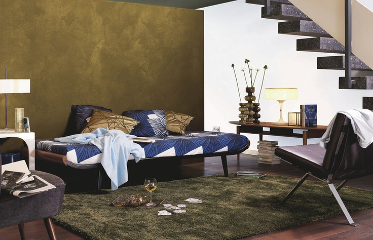 7 best deko idee wandfarben und farbeffekte images on pinterest home ideas wall colors and. Black Bedroom Furniture Sets. Home Design Ideas