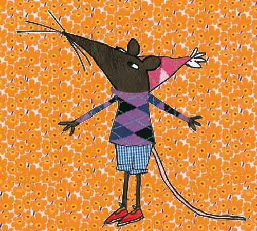 That Pesky Rat illustration by Lauren Child