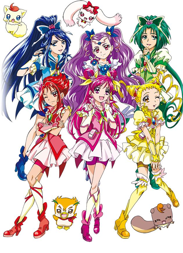 Yes! Precure 5 GoGo! by GoddessCureMystic