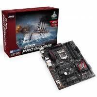 Placa base ASUS Z170-PRO GAMING ATX S-1151  DDR4 laca base ASUS Z170-PRO GAMING ATX S-1151  DDR4 (90MB0MD0-M0EAY0)  Placa ATX Z170 con un completo rango de funciones, rendimiento optimizado y un atractivo precio