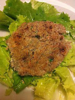 Hamburger vegano con quinoa