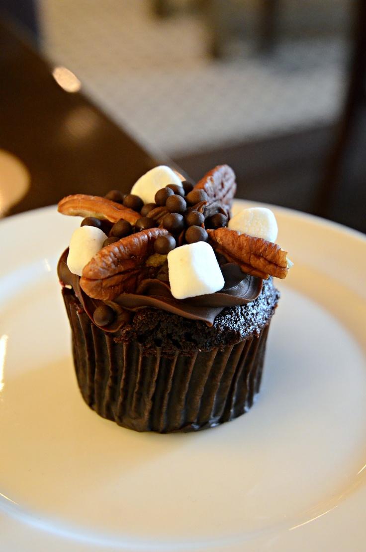 Chocolate Cupcakes @ BLT Burger