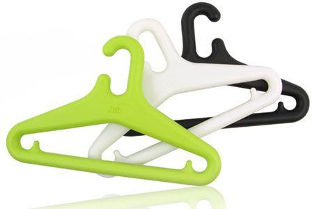 Plastex Hangers Designed by professor Eero Aarnio, Made in Finland