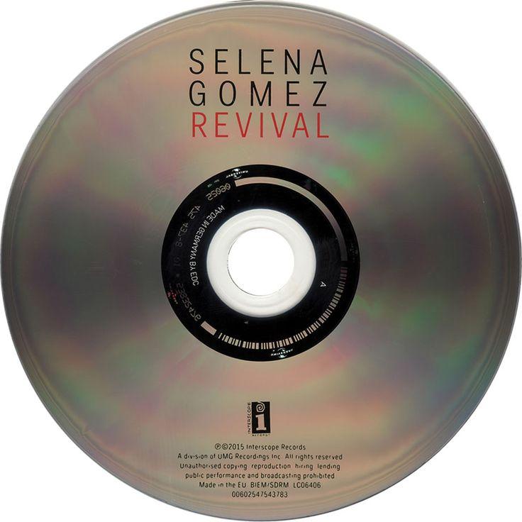 Caratula Cd de Selena Gomez - Revival