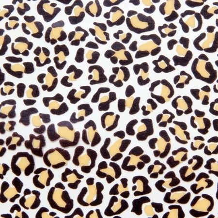Leopard print chocolate transfer sheets x2 by Chocolate Trading Co