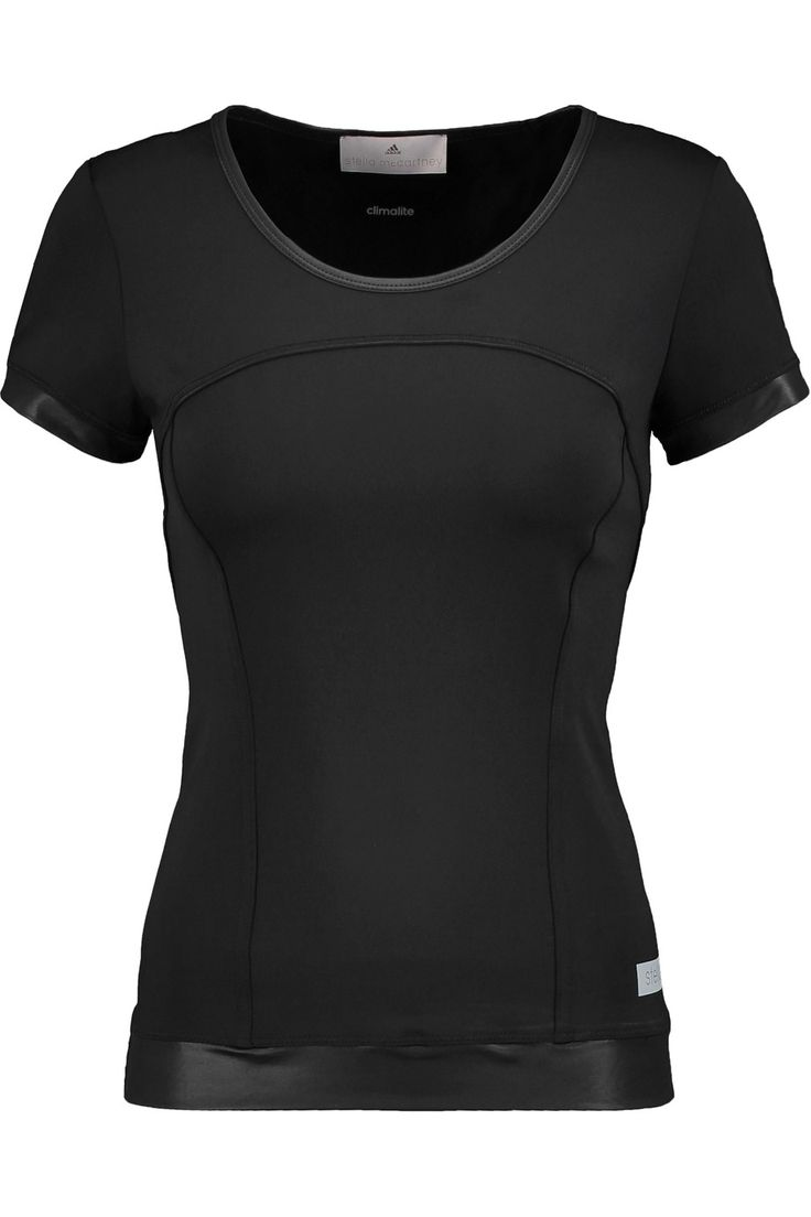 Shop on-sale Adidas by Stella McCartney Paneled stretch top. Browse other discount designer Activewear & more on The Most Fashionable Fashion Outlet, THE OUTNET.COM