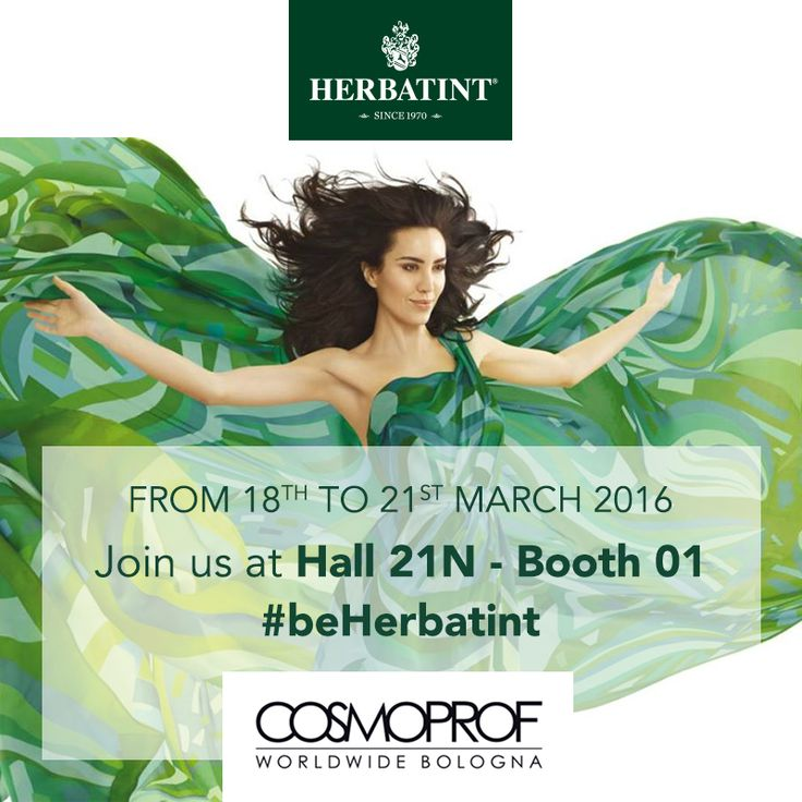 #Herbatint at the 49° edition of #Cosmoprof Worldwide #Bologna