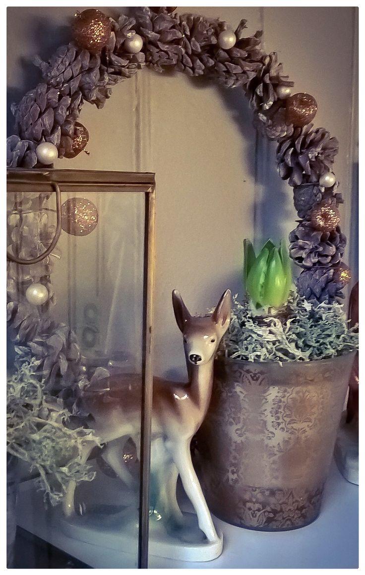 Pynter med Svibler til jul.