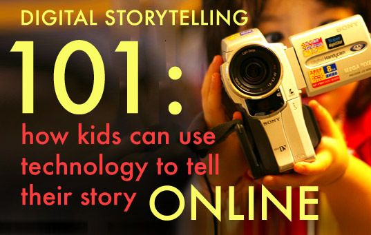 Digital StorytellingTechnology Classroom, Teaching Technology, Digital Storytelling, Art Technology Education, Class Technology, Education Teaching, Digital Stories, Online, Media Class