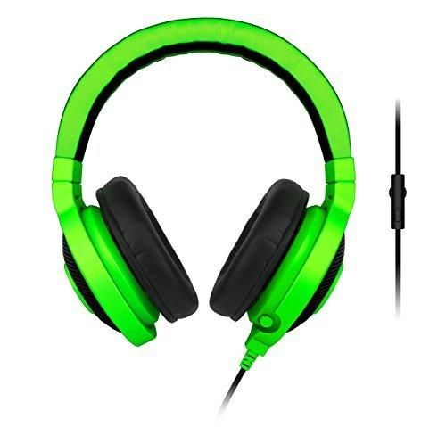 Razer Kraken Pro Analog Gaming Headset for PC Xbox One and Playstation 4 Green