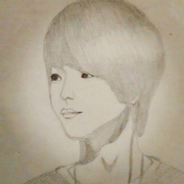 trate de dibujar a E.co <3 #eco #jjcc #kpop #fanart #kpop #drawing