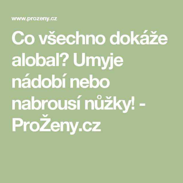 Co všechno dokáže alobal? Umyje nádobí nebo nabrousí nůžky! - ProŽeny.cz