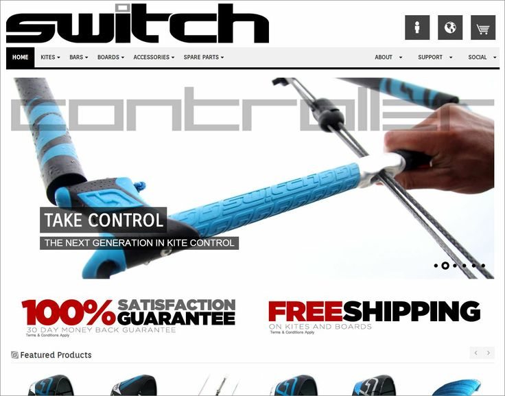 Check out our new website.  www.switchkites.com