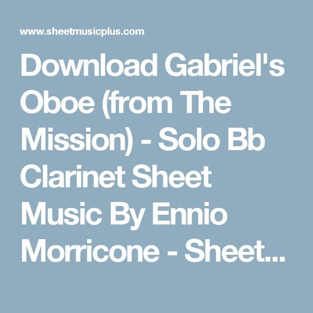 Best 25 Clarinet Sheet Music Ideas On Pinterest