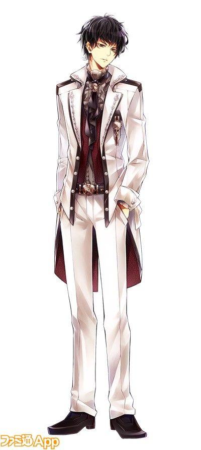 Cain in formal attire