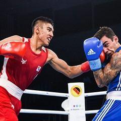 AIBA World Boxing Championships Men's Light Welter - Artem Harutiunian vs Ikboljon Kholdarov