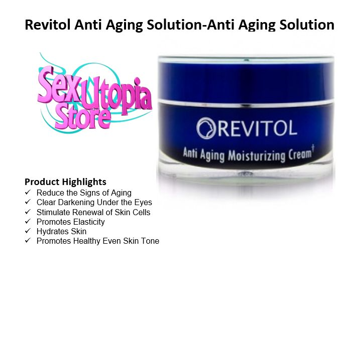 We all want to look younger and turn back the hands of time, but wrinkles and other skin damage can often make that impossible. Normally the only solution is expensive plastic surgery or other dangerous procedures that can cost a fortune. Now there's an all-natural solution when you want your skin to look younger and healthier: Revitol Complete Anti-Aging System   Revitol uses a patented all-natural process that will help you achieve that youthful look.