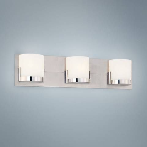 George Kovacs Convex 21 Wide Bathroom Wall Light P6975 Lamps Plus Wall Lights Bathroom Wall Lights Bathroom Wall