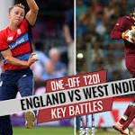 England vs West Indies 2017 one-off T20I at Chester-le-Street: Chris Gayle vs Tom Curran and other key battles
