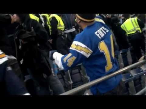 Raiders Vs Chargers Fight.