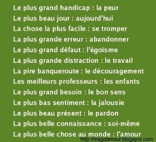 citation et proverbe en image   Poème d'amour - SMS d'amour - Phrase d'amour - Citation d'amour et Message d'amour
