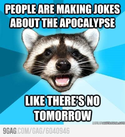 Bad Pun Raccoon late but,