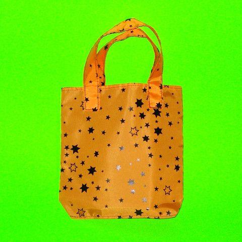 Orange Stars Purse - Mookie Designs