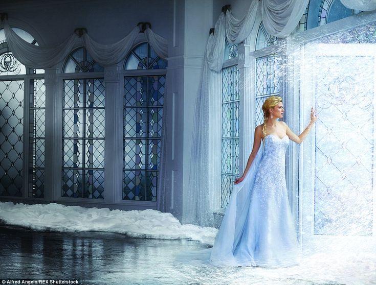 Alfred Angelo : robe de mariée d'Elsa, la reine des neiges