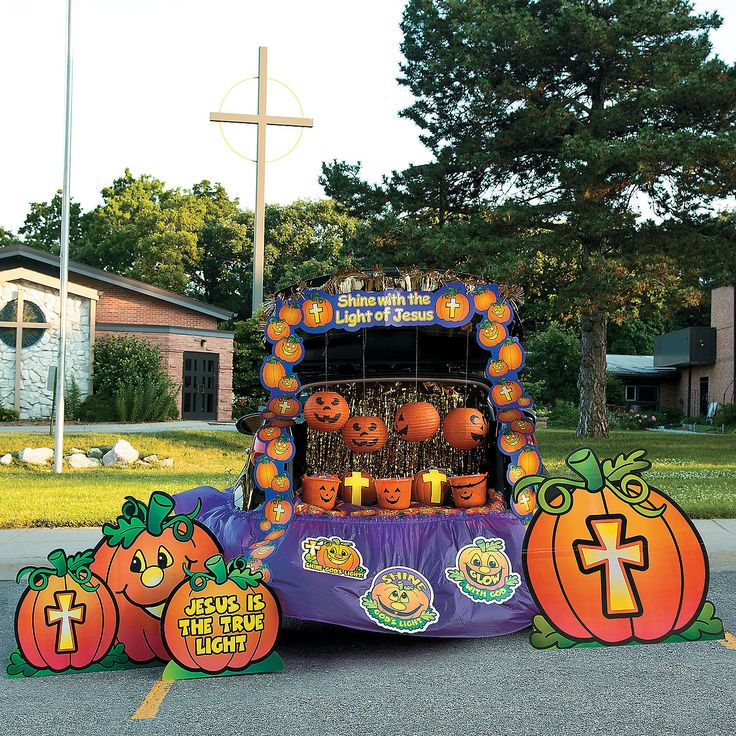 Trunk Halloween Decorating Ideas: 128 Best Trunk Or Treat Images On Pinterest