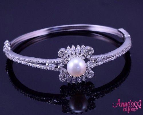 Bratara eleganta din argint cu perla