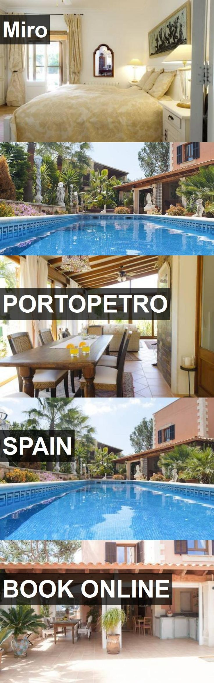 Hotel Miro in Portopetro, Spain. For more information, photos, reviews and best prices please follow the link. #Spain #Portopetro #travel #vacation #hotel