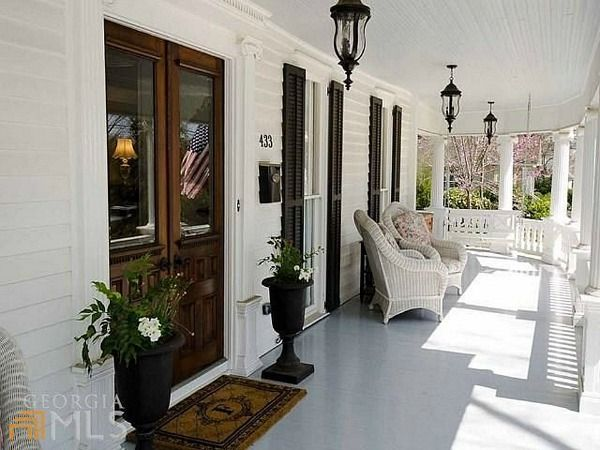 143 best images about farmhouse porches on pinterest for Georgia front porch