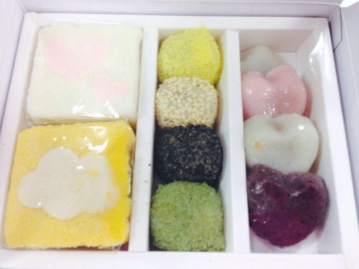 Korean rice cake~ called 'dduck'
