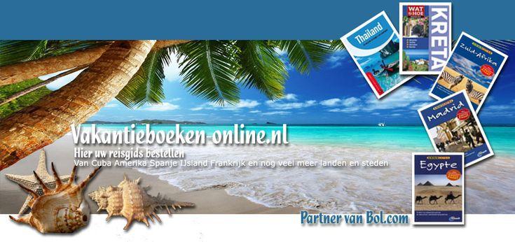 Vakantieboeken-Online.nl - voor al uw Vakantieboeken