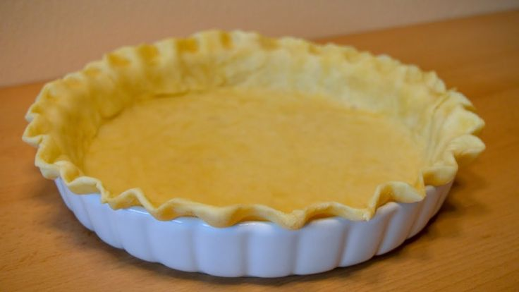 How to make the Perfect Buttery Flaky Pie Crust - easy and quick!