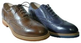 Brogues shoes for men made in Italy by Nero Giardini