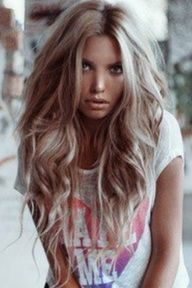 gorgeous sandy blonde-LOVE THIS, not too blonde not too brown