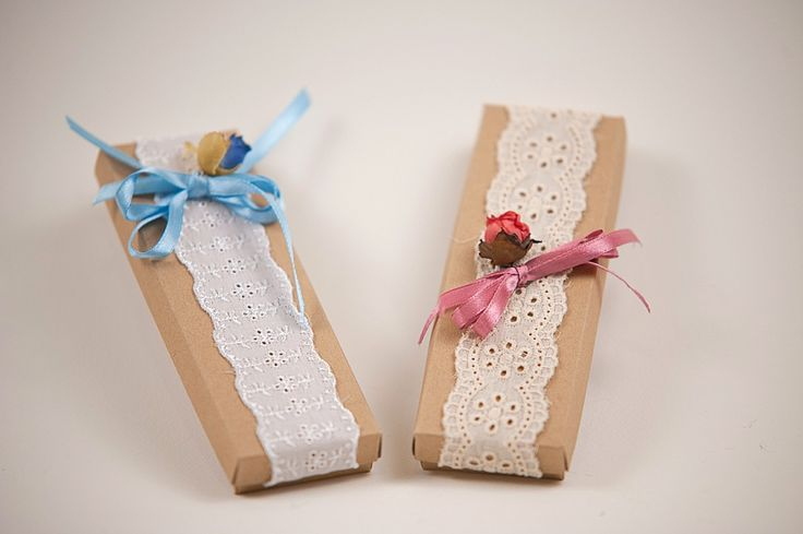 Craft Boxes with bombons   ΚΟΥΤΑΚΙ ΚΡΑΦΤ ΜΕ ΔΑΝΤΕΛΑ  www.lenagamos.gr