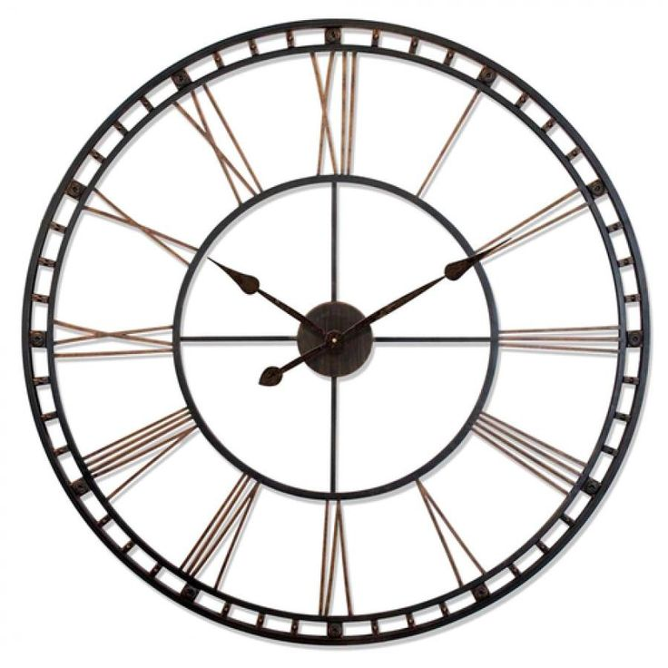 Found it at Clockway.com - 39in Large Wall Clock - TFT6014