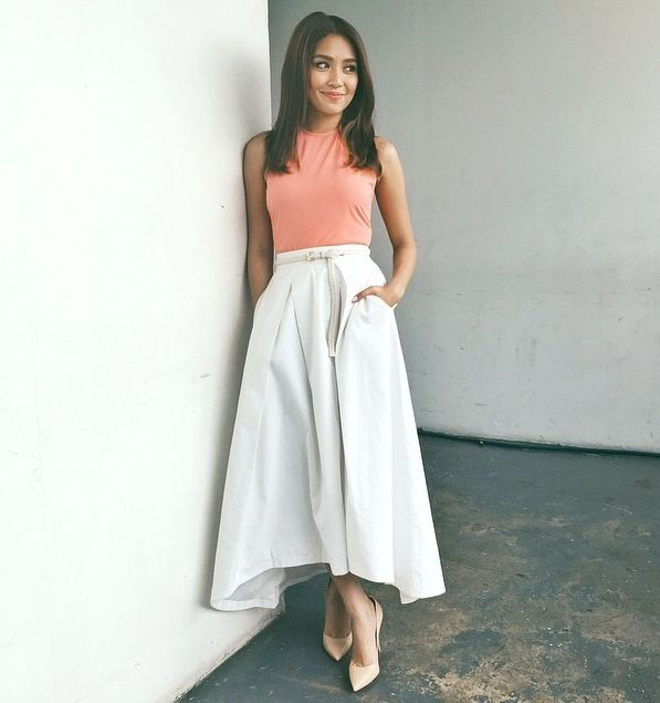 stunning kathryn bernardo dress outfit