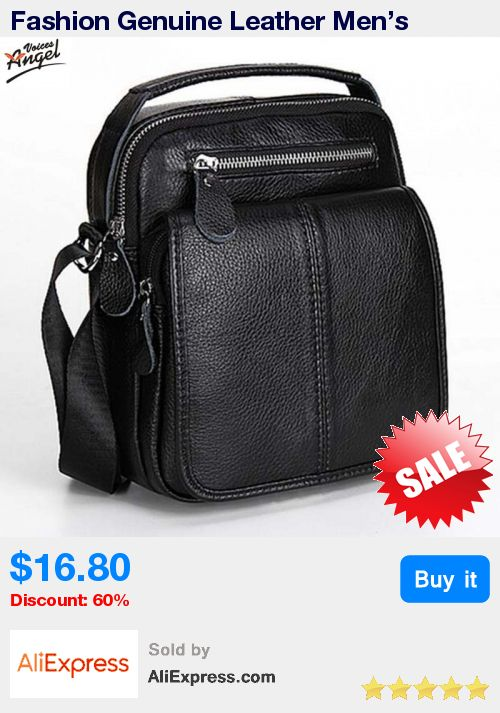 Fashion Genuine Leather Men's Messenger Bags Man Portfolio Office Bag Quality Travel Shoulder Handbag for Man 2016 Dollar Price * Pub Date: 02:03 Jun 27 2017