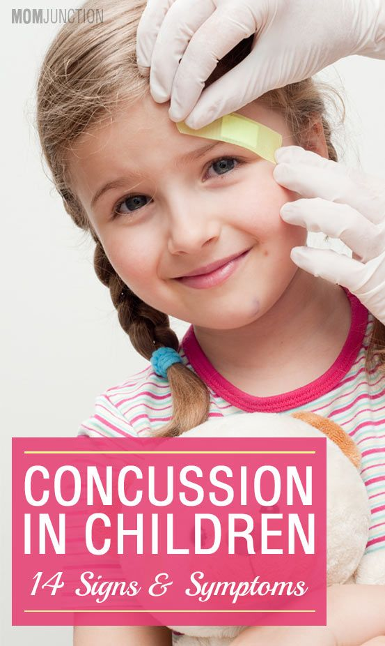 14 Signs And Symptoms Of Concussion In Children: Concussions are most commonly observed in individuals who spend a good portion of their time in outdoor activities like sports, riding bikes or even driving cars. So if your kid made it to the school basketball or football team, it's a good idea to know more about this one.