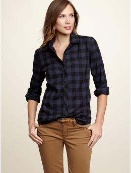 (Gap clothing shown) Gonna bring back the plaid ... Oh, wait. My husband (who loves the GAP) says it never went out of style (aka, The Plaid Man). Ever. Guess Latinos are just now discovering this American Dream ...