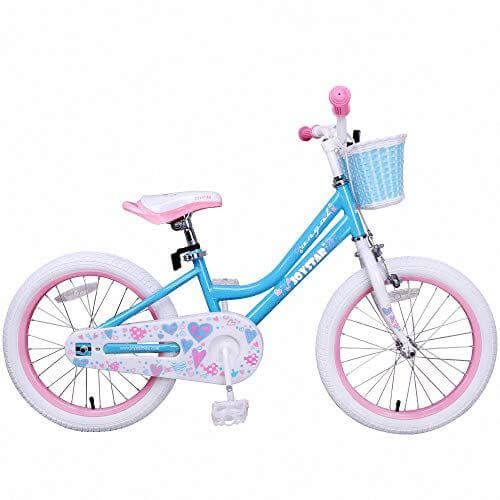 Joystar Girls Bike With Training Wheels For 14 Quot Amp 16 Quot Bike Kickstand For 18 Quot Bicycle Bike With Training Wheels Toddler Bicycle Kids Bicycle