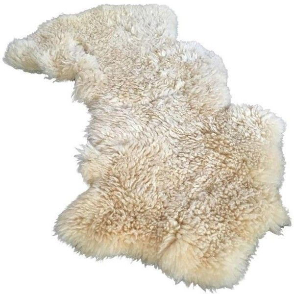 Authentic White Sheepskin Throw ($75) ❤ liked on Polyvore featuring home, bed & bath, bedding, blankets, throws, sheepskin blanket, white bed linen, white bedding, white blanket and sheepskin throw