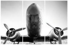 Image result for dc3 image printed on glass
